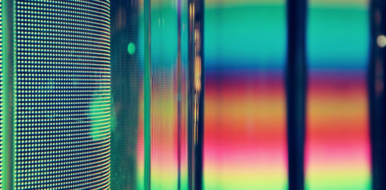 Bunte verschwommene Farben